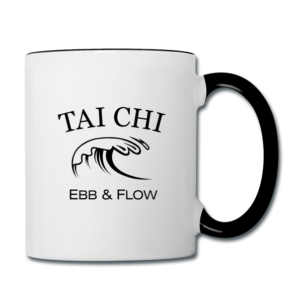 Tai Chi Coffee Mug - white/black