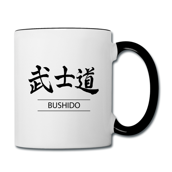 Bushido Coffee Mug - white/black