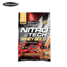 Load image into Gallery viewer, Muscle Technology Gold Medal Nitrogen Protein Powder 1 bag of 33g Strengthen Muscles and Improve Immunity