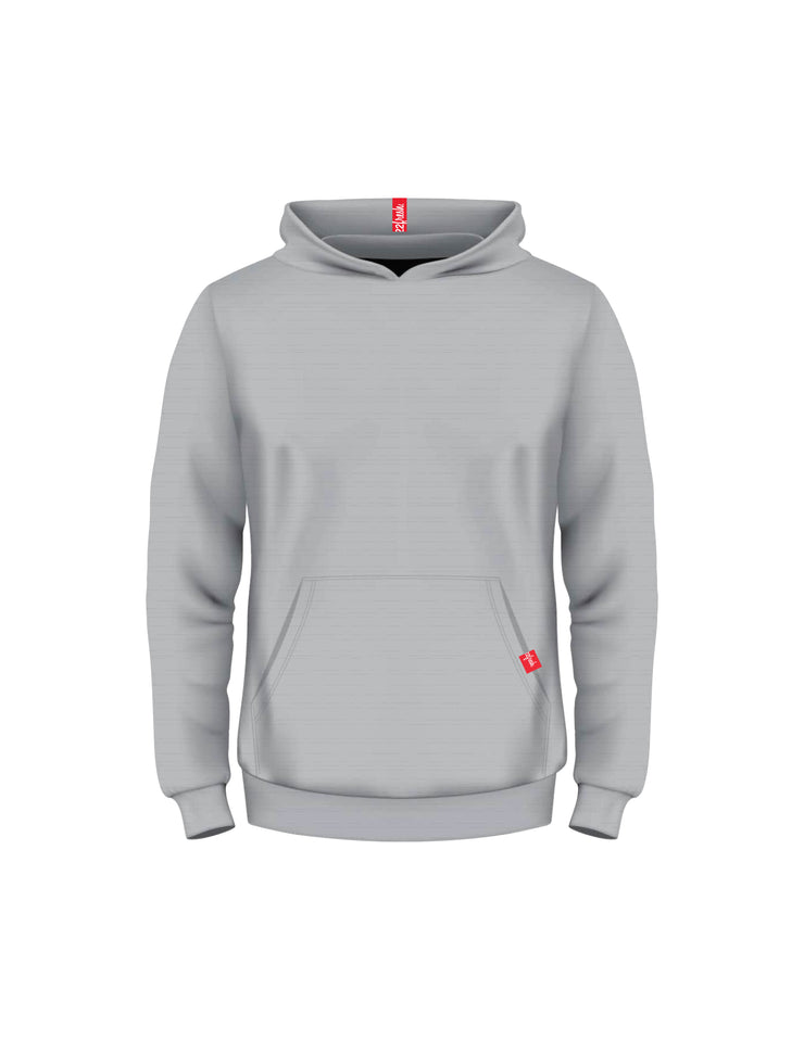 Youth Fresh Fleece Classic Hoodie - Athletic Grey (22fresh)