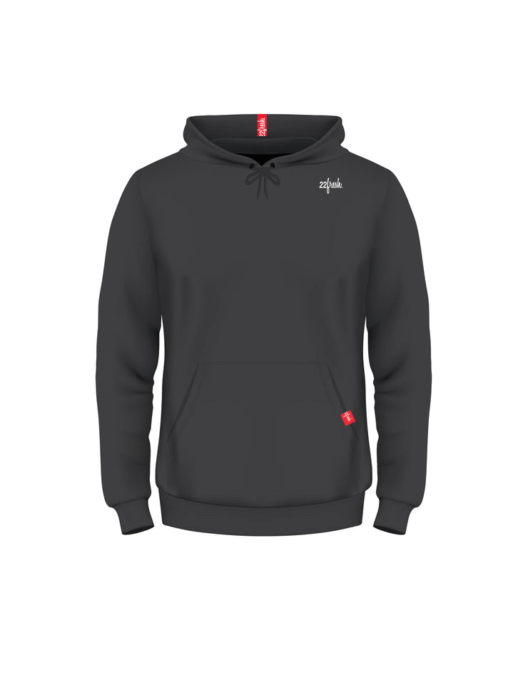 Fresh Fleece Classic Hoodie - Black (22fresh)