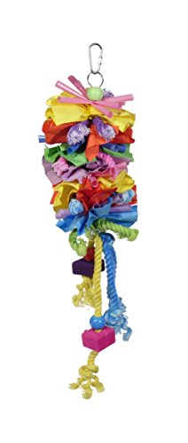Prevue Pet Products 62605 Calypso Creations Short Stack Bird Toy