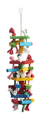 Prevue Pet Products 60960 Bodacious Bites Tower Bird Toy, Multicolor