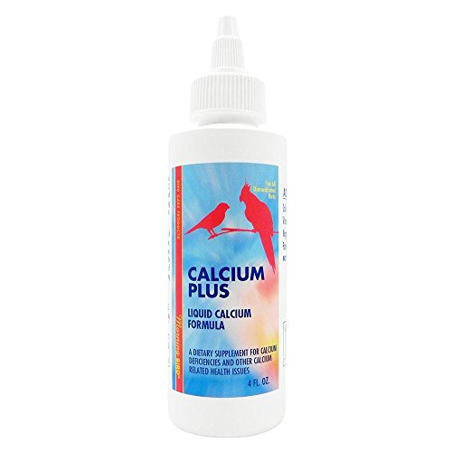 Morning Bird Calcium Plus Vitamin Supplement For Cage Aviary Birds Finches 120ml