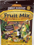 Sweet Harvest Fruit Mix Treat, 5.0 Oz Bag - Real Fruit for Birds and Small Animals - Rabbits, Hamsters, Guinea Pigs, Mice, Gerbils, Rats, Cockatiels, Parrots, Macaws, Conures