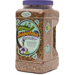 Goldenfeast Australian Blend Bird Food 64 Ounce