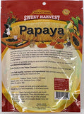 Sweet Harvest Papaya Treat, 6.5 Oz Bag - Real Fruit for Birds and Small Animals - Rabbits, Hamsters, Guinea Pigs, Mice, Gerbils, Rats, Cockatiels, Parrots, Macaws, Conures