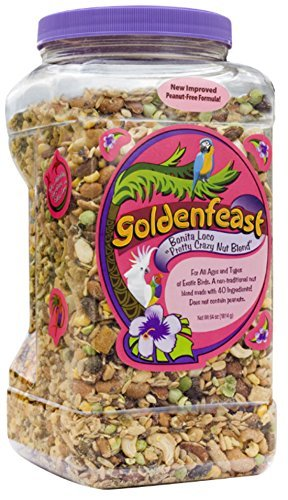 Goldenfeast Bonita Loco Bird Food, 64 oz.