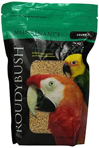 RoudyBush Daily Maintenance Bird Food, Crumbles, 22-Ounce