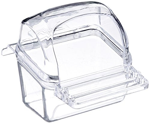 Prevue Pet Products BPV1219 1-Card Hooded Bird Cage Plastic Cup, Colors Vary