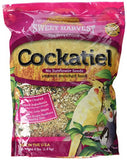 Sweet Harvest Cockatiel Bird Food (No Sunflower Seeds), 4 lbs Bag - Seed Mix for Cockatiels
