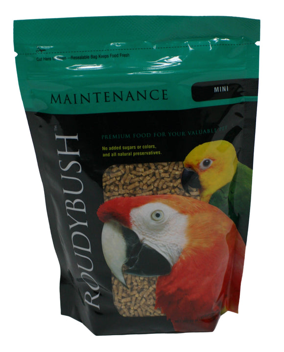 Roudybush Daily Maintenance Bird Food, Mini, 22-Ounce (Pack May Vary)