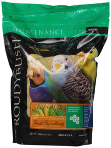 RoudyBush Daily Maintenance Bird Food, Nibles, 10-Pound