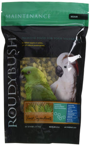 RoudyBush Daily Maintenance Bird Food, Medium, 8-Ounce
