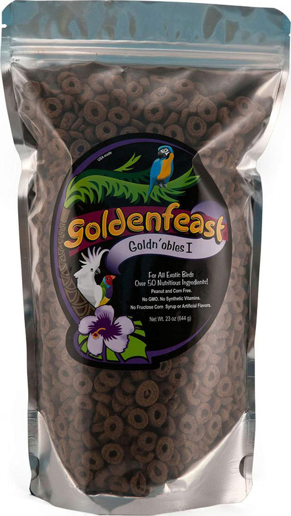 Goldenfeast Goldn'obles I Large Beak Barrier Package 23oz Bird Food