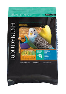 RoudyBush Daily Maintenance, Nibbles Bird Food, 25-Pound