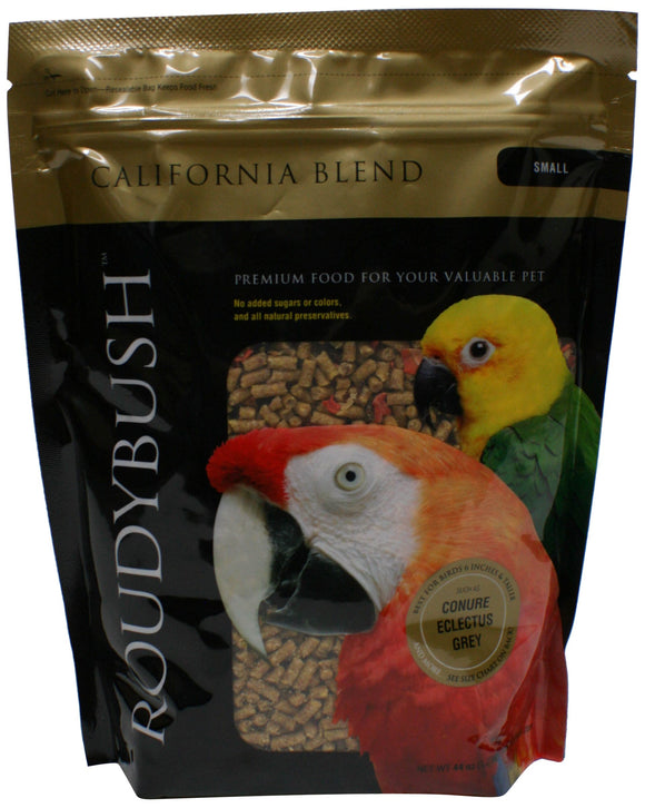 Roudybush California Blend Bird Food, Small, 44-Ounce