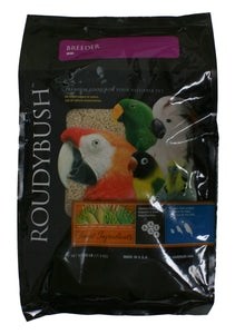 RoudyBush Breeder Bird Food, Mini, 25 Pound