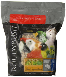 RoudyBush High Energy Breeder Bird Food, Medium, 44-Ounce