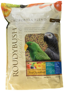 RoudyBush California Blend Bird Food, Small, 10-Pound(Packaging May Vary)