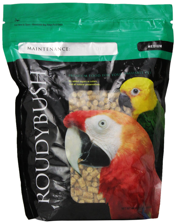 RoudyBush Senior Bird Diet, Medium, 44-Ounce