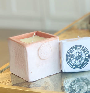 Coldpiece Pottery Cube Refill Only Tuberose