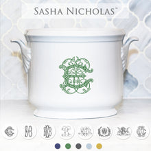 Load image into Gallery viewer, Sasha Nicholas Monogrammed Champagne Bucket