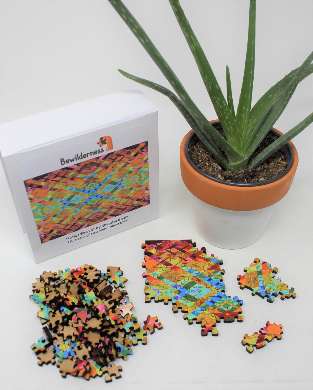 Color Weave Wooden Jigsaw Puzzle
