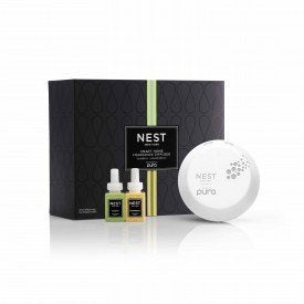 NEST Pura Smart Diffuser in Bamboo and Grapefruit