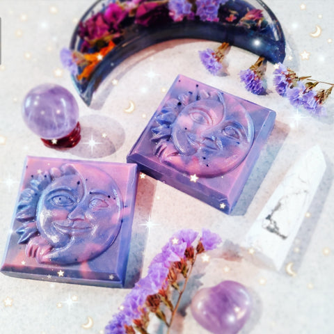 Sun and moon duo soap