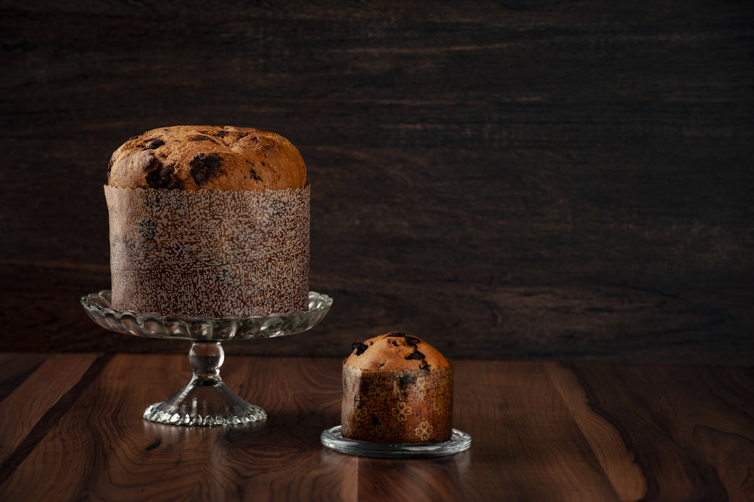 Blueberry & Dark Chocolate Panettone- Italian Holiday Bread!