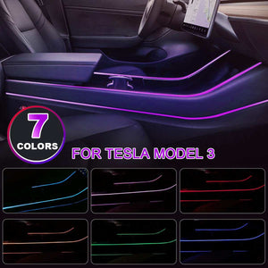 Tesla Model 3 Interior LED Lighting - teslaprints.myshopify.com