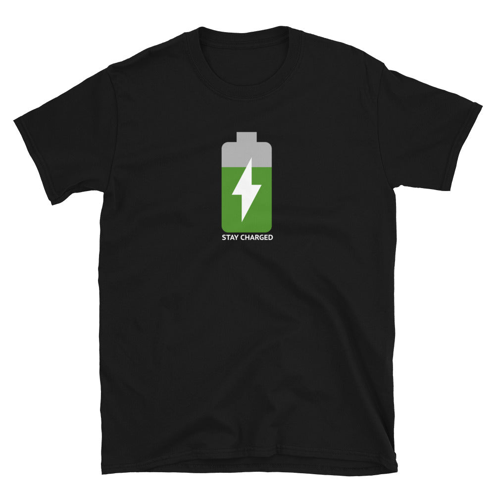 Stay Charged T-Shirt - teslaprints.myshopify.com