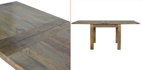 Extendable Butterfly Dining Table by Artisan Furniture