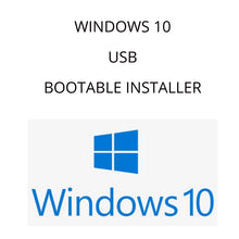Load image into Gallery viewer, Windows 10 Professional Bootable USB Installation Drive with key