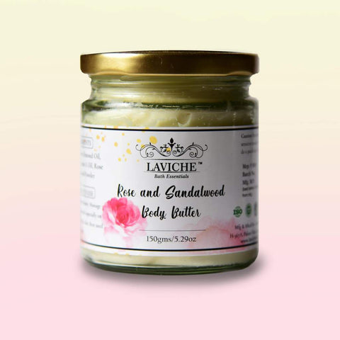 Rose and Sandalwood Body Butter
