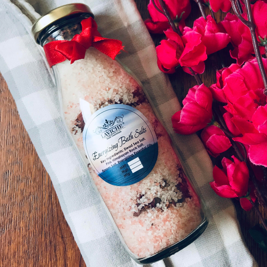 Energising Rose Bath Salts