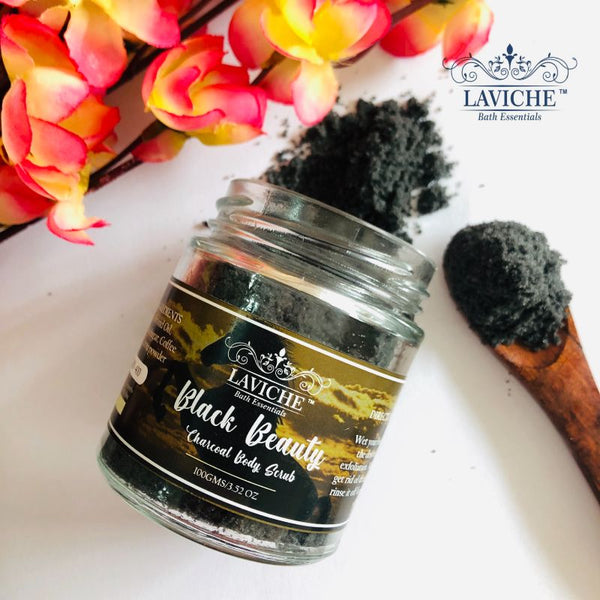 """Black Beauty"" Charcoal Body Scrub"