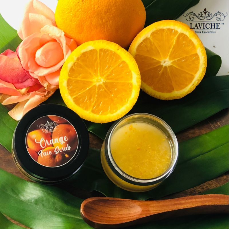Orange Face Scrub