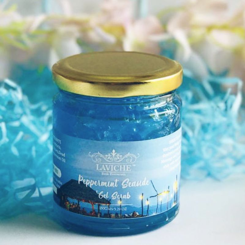 Peppermint Seaside Gel Scrub