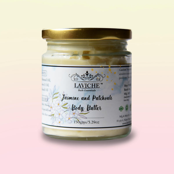 Jasmine and Patchouli Body Butter
