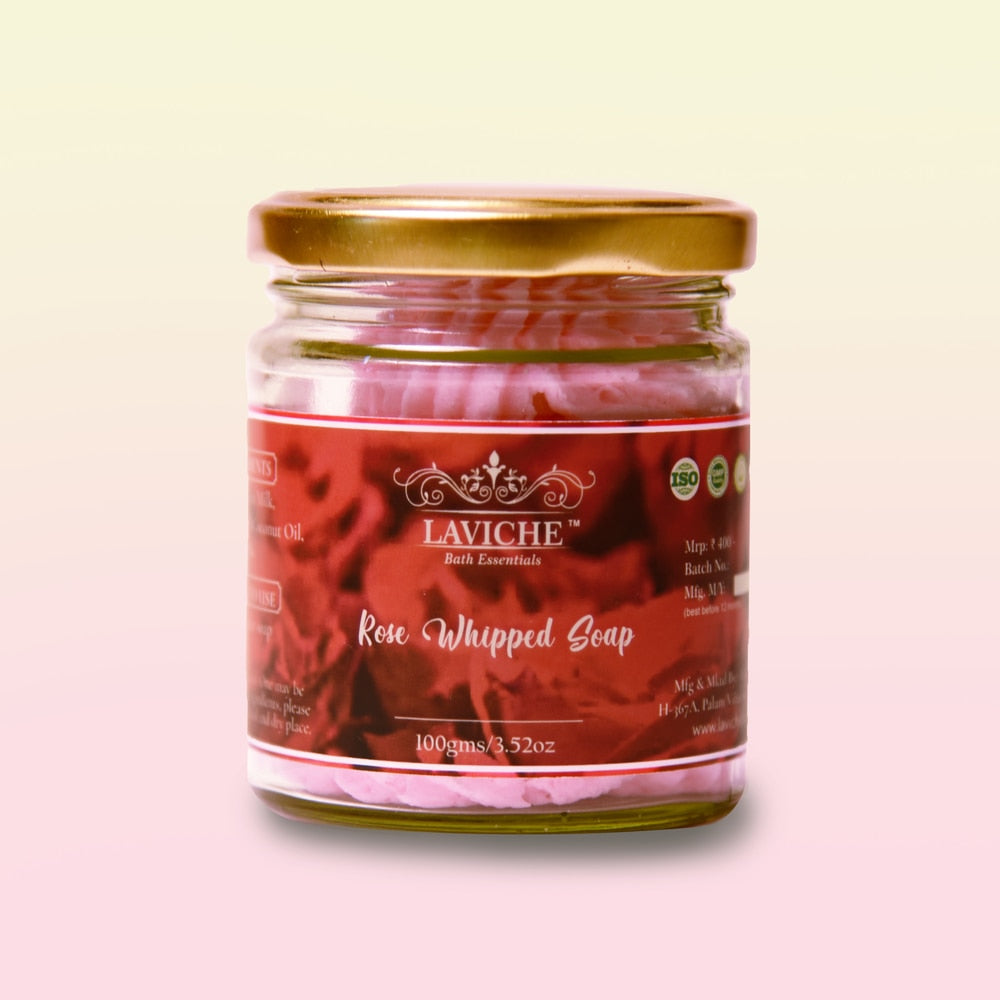 Rose Whipped Soap