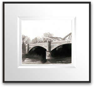 Barnes Bridge Indian Ink