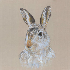 The Alpine Hare print