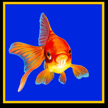 Load image into Gallery viewer, Goldfish print