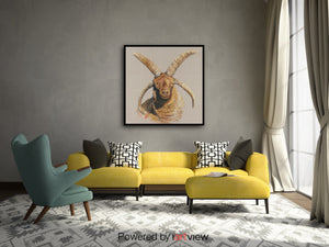 Loaghtan on Canvas