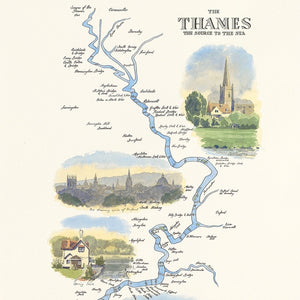The Thames, The Source to the Sea by William Thomas