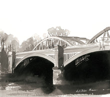 Load image into Gallery viewer, Barnes Bridge Indian Ink