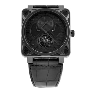 BELL & ROSS - TOURBILLION PHANTOM - BLACK TITANIUM
