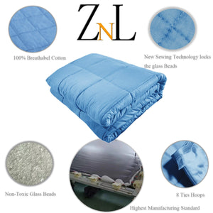 Sky Blue Weighted Blanket Canada